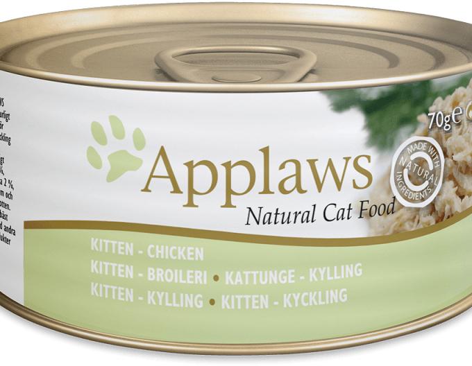 Applaws 全天然幼貓罐頭 - 雞胸 (70g)