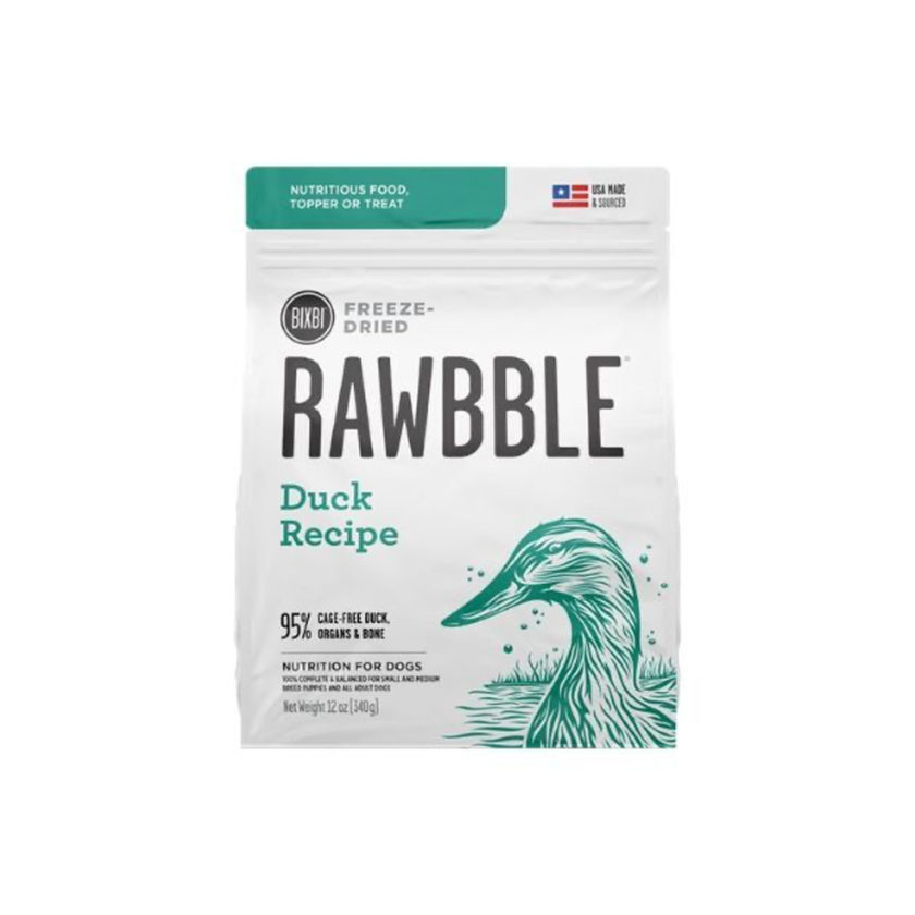 bixbi rawbble duck