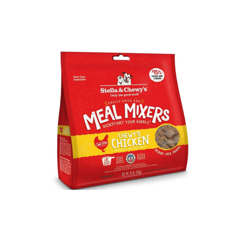 stella and chewy meal mixers chicken