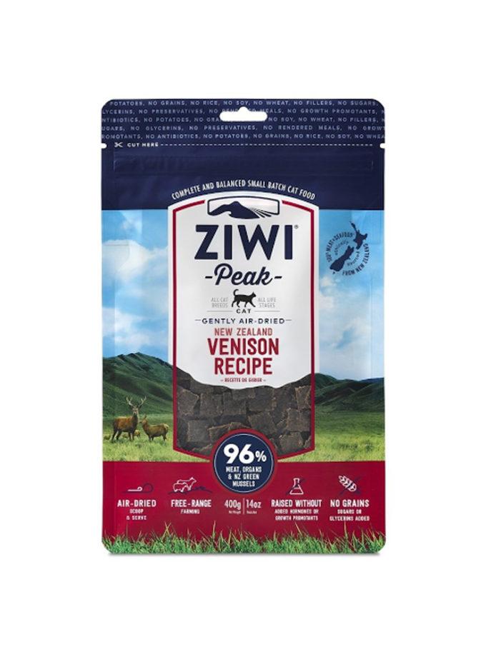 ZIWI Peak 無穀物脫水貓乾糧 - 鹿肉配方 (400g)