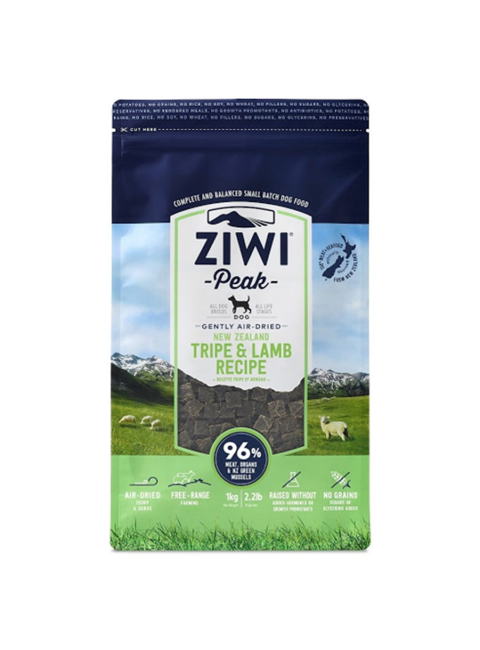 ziwi peak tripe and lamb