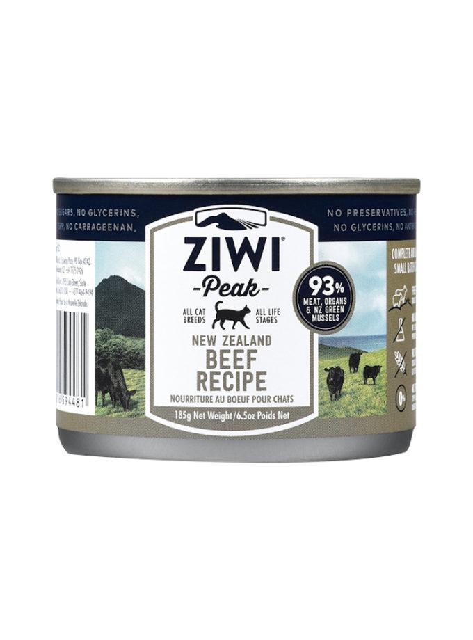 ZIWI Peak 貓罐頭 - 牛肉配方 (6.5 oz(185g))