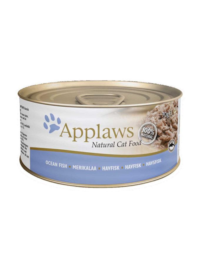 Applaws 天然成貓罐頭 - 海魚 (70g)