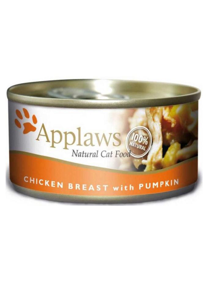 Applaws 天然成貓罐頭 - 雞胸 + 南瓜 (70g)