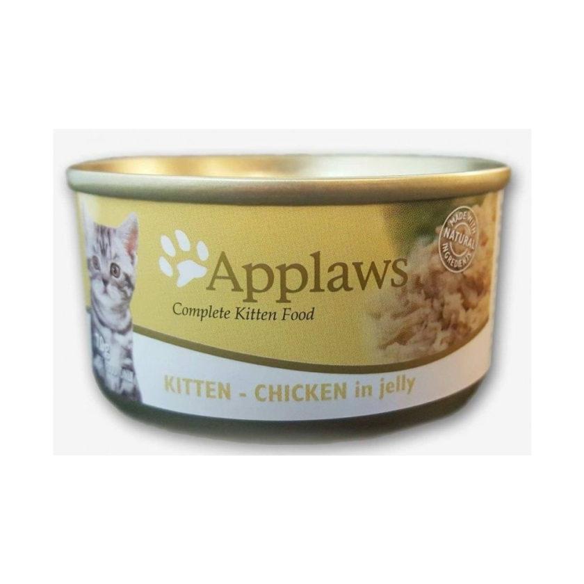 Applaws 天然幼貓啫喱罐頭