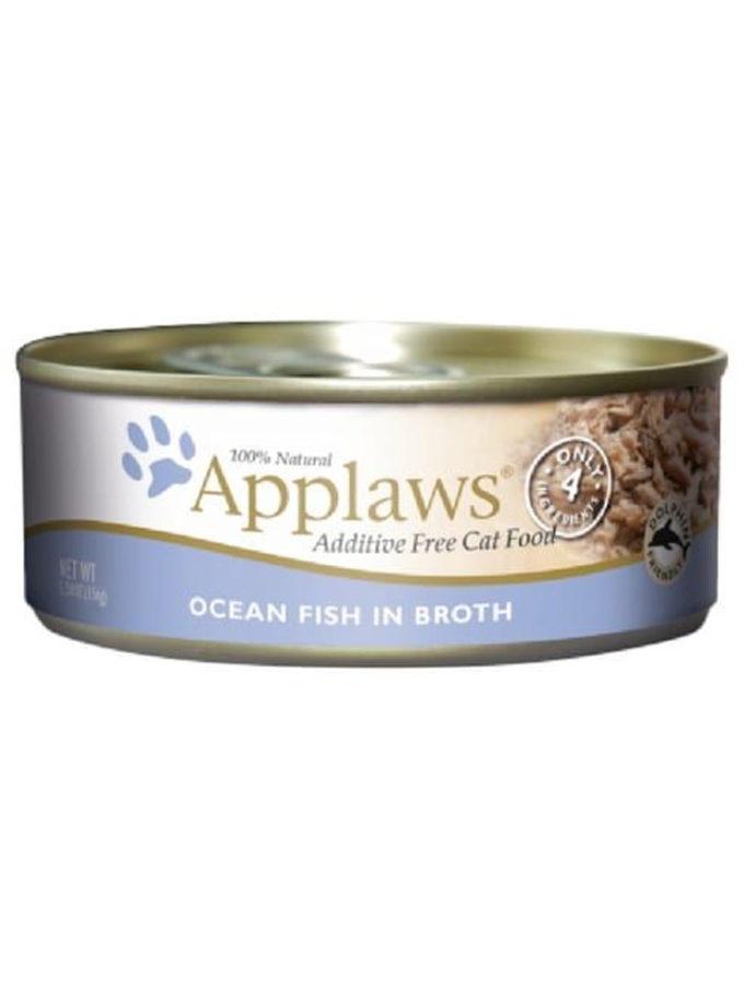 Applaws 天然成貓罐頭 - 海魚 (156g)