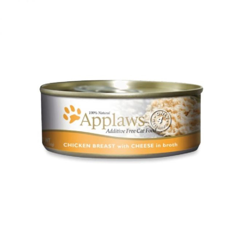Applaws 天然成貓罐頭 - 雞胸 + 芝士 (156g)