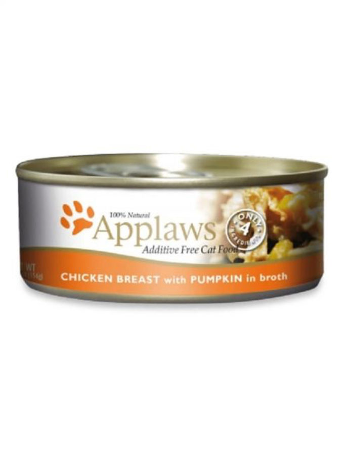 Applaws 天然成貓罐頭 - 雞胸 + 南瓜 (156g)