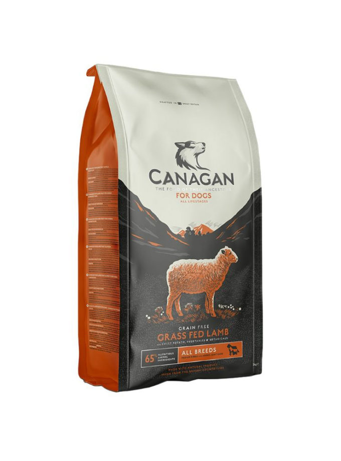 canagan grass fed lamb