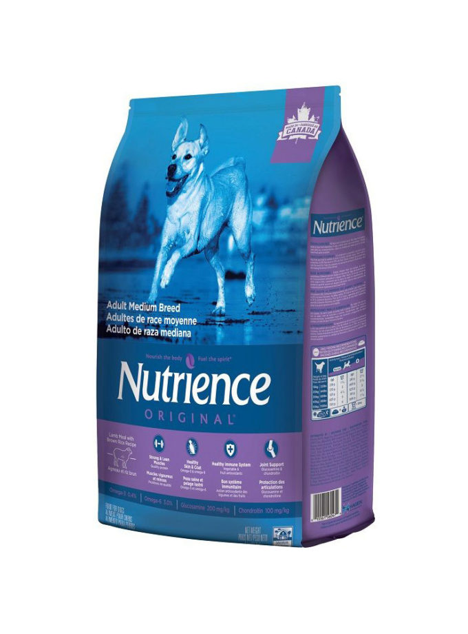 nutrience original dog food