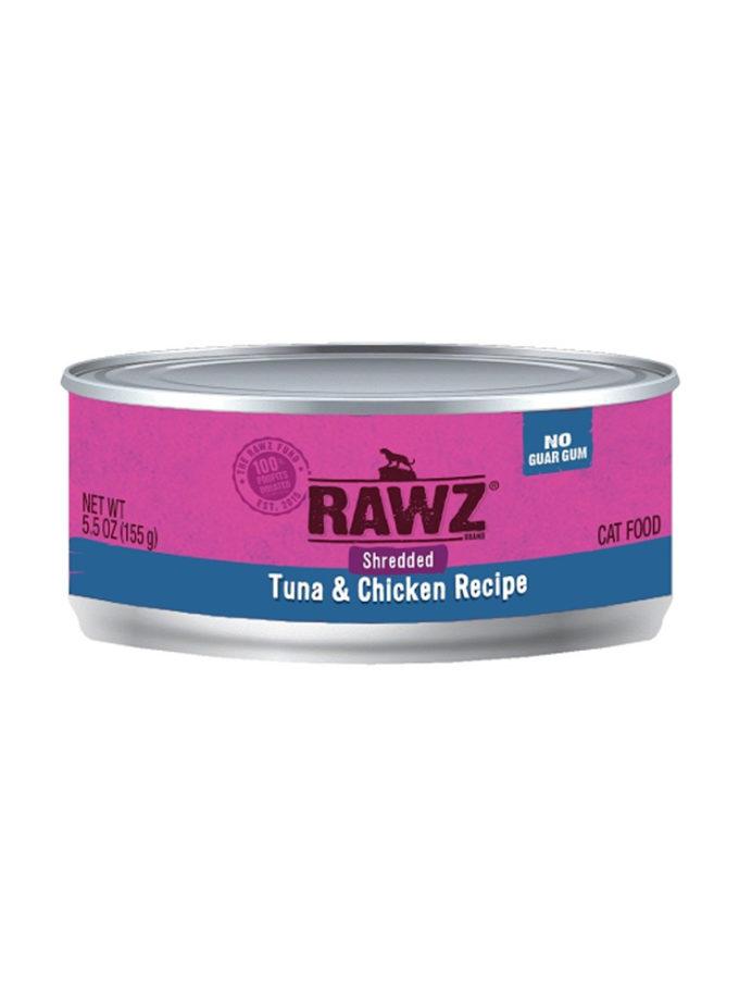 RAWZ 吞拿魚及雞肉(肉絲) (155g)