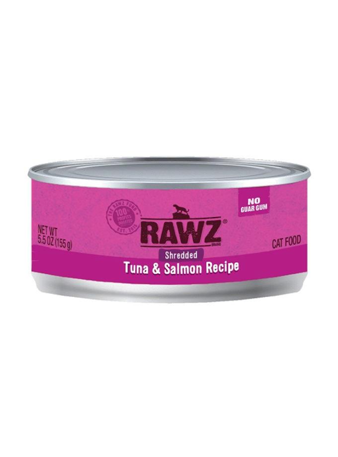 RAWZ 吞拿魚及三文魚(肉絲) (155g)