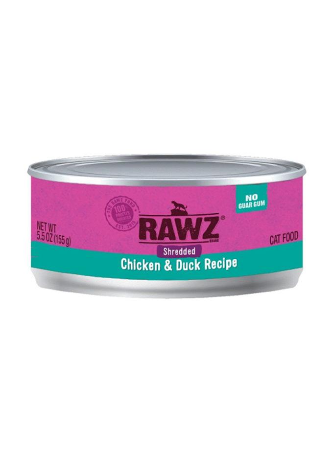 RAWZ 雞肉及鴨肉(肉絲) (155g)