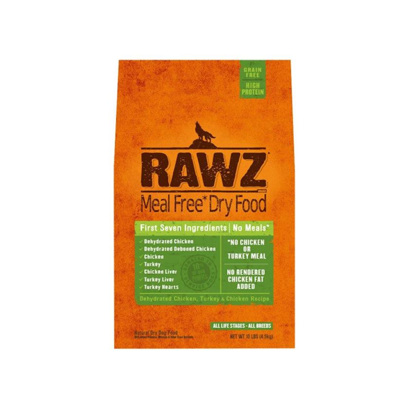 RAWZ 脫水雞肉、火雞及雞肉配方(不含肉粉) (20 lb)