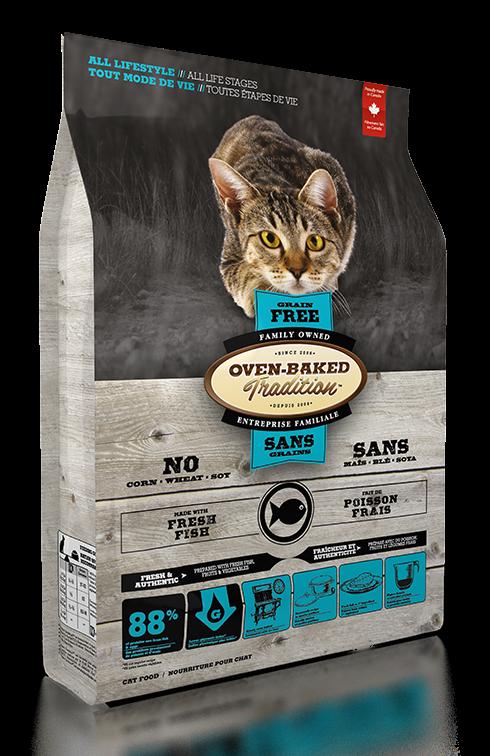 Oven-Baked 貓糧無穀物五種魚配方