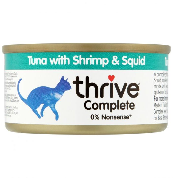 Thrive (脆樂芙) Tuna with Shrimp & Squid