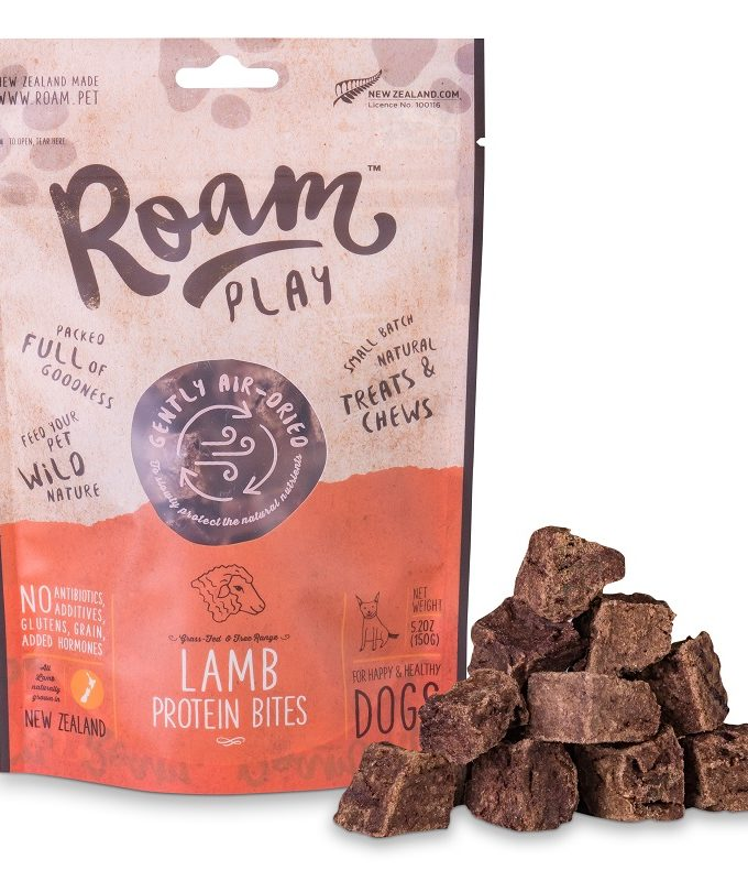 Roam Play Lamb Protein Bites