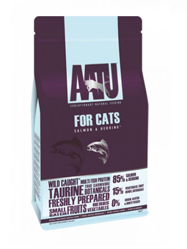 AATU全天然防敏貓糧-魚肉 3KG