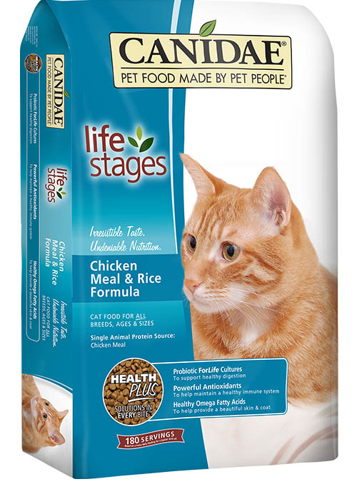 Canidae All Life Stages Cat Food Made With Chicken
