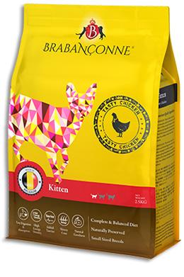 Brabanconne 幼貓雞肉配方貓糧 20KG (新白袋包裝)