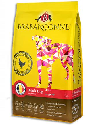 Brabanconne 爸媽寵 大型成犬雞肉配方狗糧 10KG