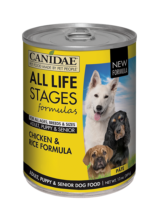 Canidae All Life Stages For All Dogs Chicken & Rice Formula