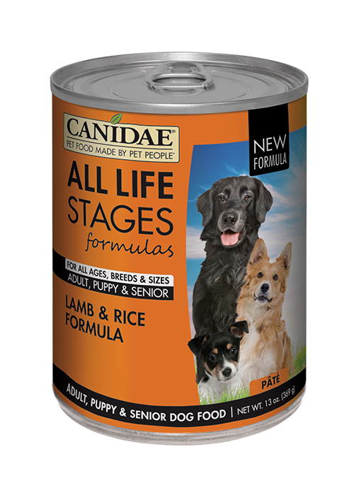 Canidae All Life Stages For All Dogs Lamb & Rice Formula羊肉糙米配 13oz