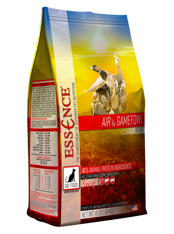essence air and gamefowl cat food