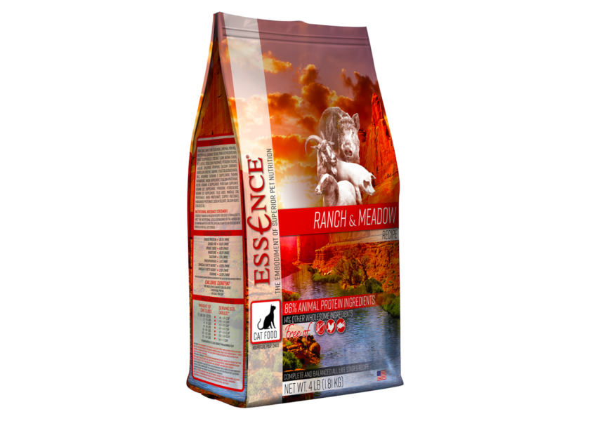 essence ranch and meadow cat food