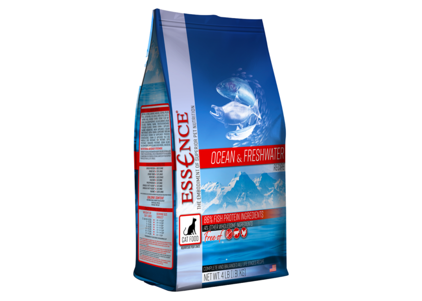 essence ocean and freshwater cat food