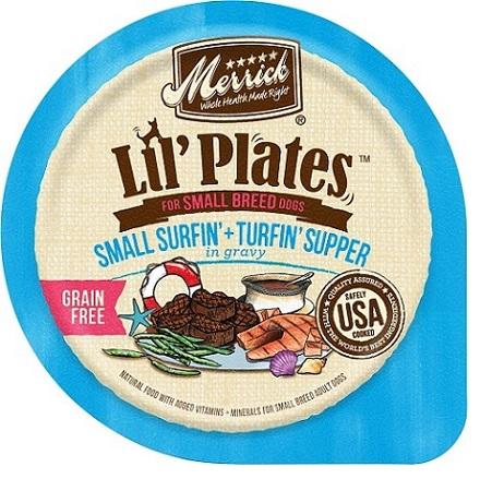 Lil' Plates Grain Free Small Surfin' + Turfin' Supper in Gravy