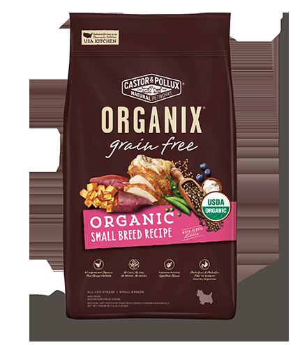 Grain Free Organic Small Breed Recipe