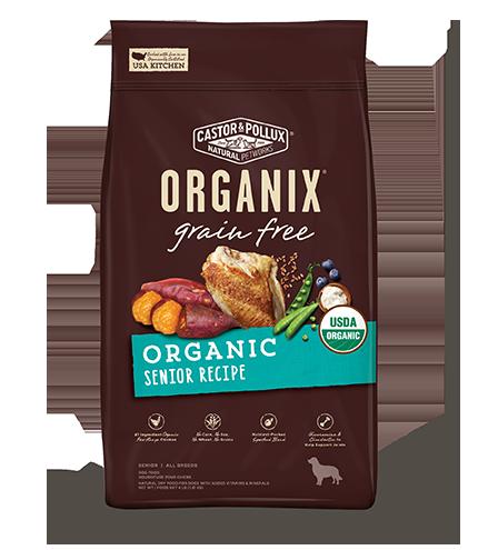 Grain Free Organic Senior Recipe 10LB