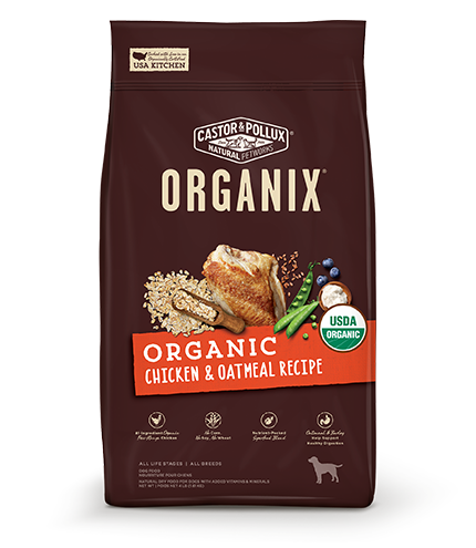 ORGANIX Organic Chicken Oatmeal Recipe