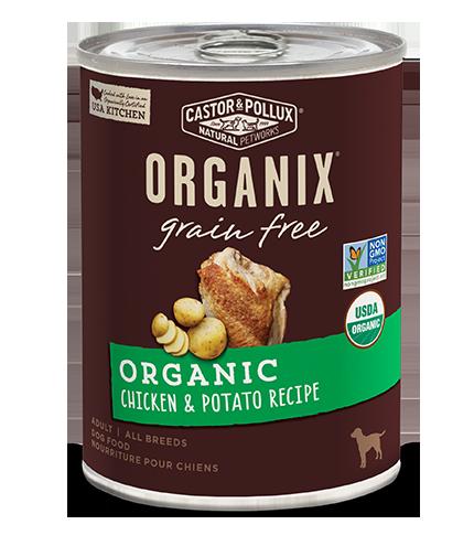 Organic Chicken & Potato Recipe 無穀物有機雞肉和 有機馬鈴薯配方 12.7OZ