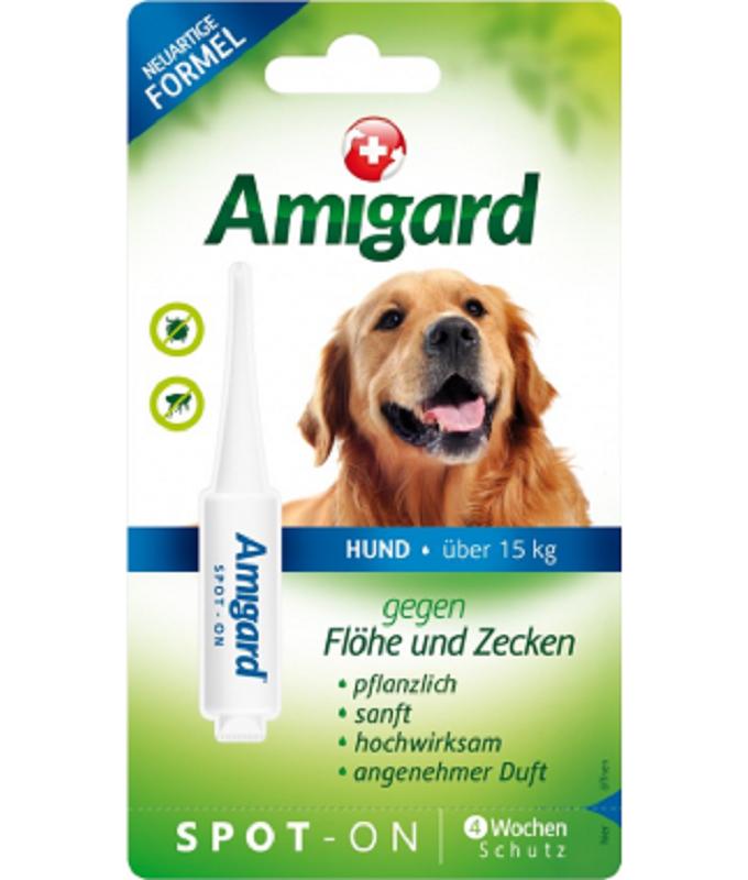 Amigard Spot - On犬用天然防蝨滴(15-30公斤) 1支