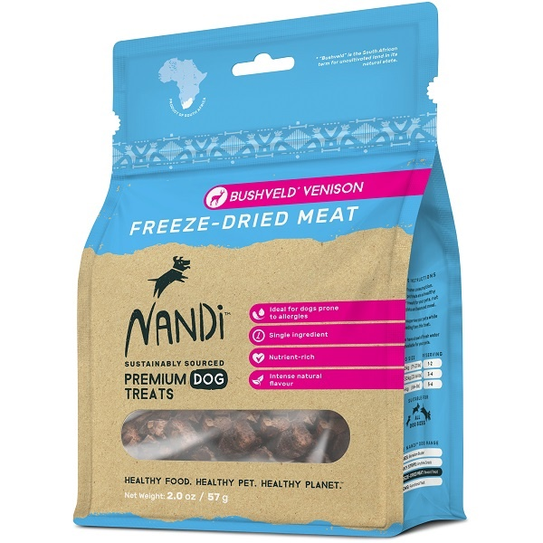 NANDI 南非原野凍乾鹿肉 57G