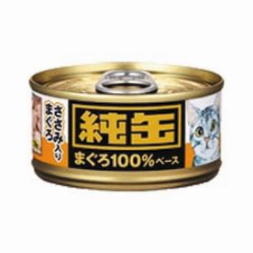 日本純罐貓罐頭 吞拿魚+雞肉65g