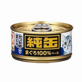 日本純罐貓罐頭 吞拿魚+鰹魚65g