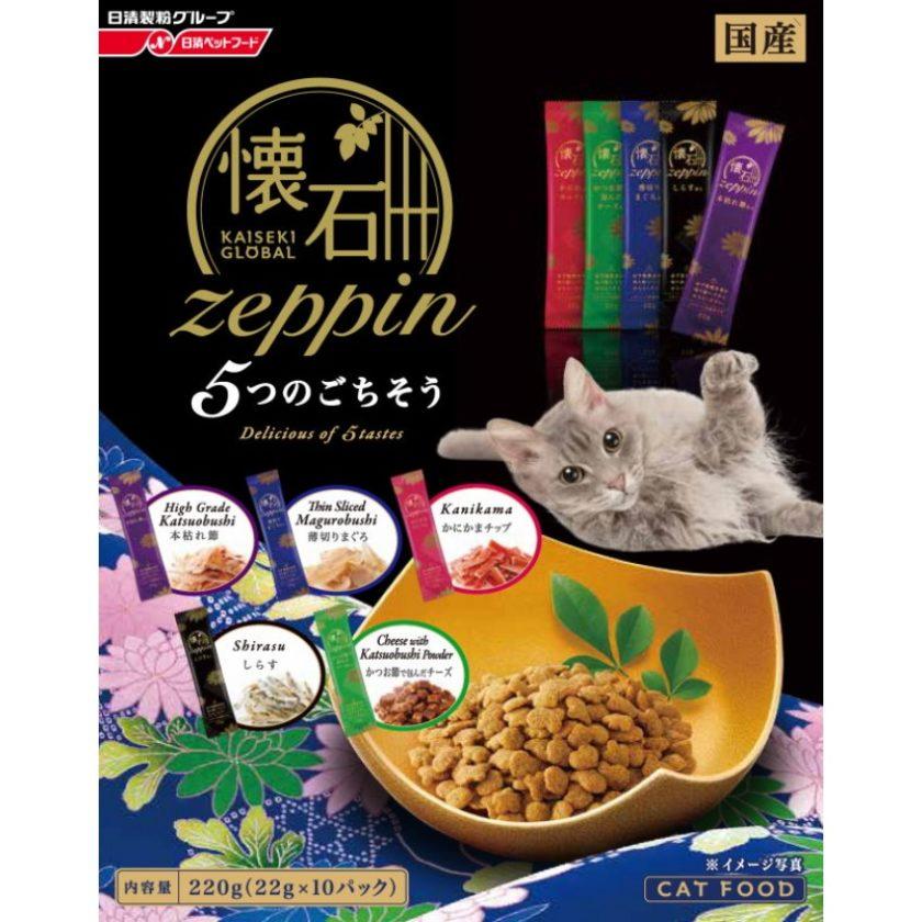 日清-懷石絕品-美味(5種口味)220g(藍)