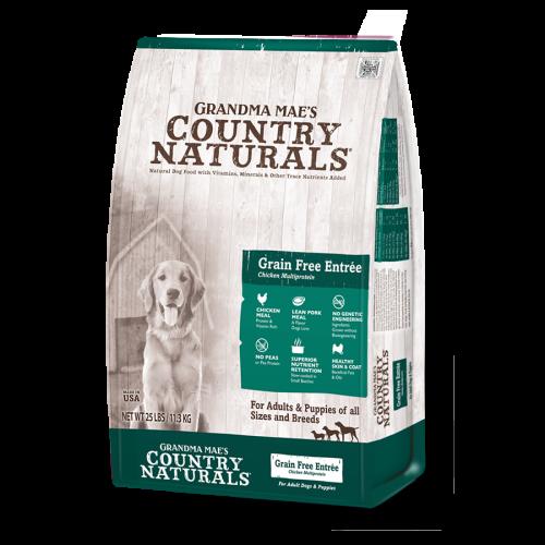 Grandma Country Naturals 無穀物白鮭魚雞肉低糖配方 Grain Free Multi-Protein Formula 14LB