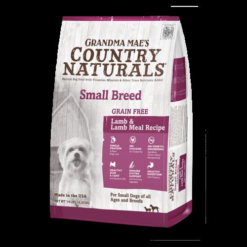無穀物羊肉防敏配方 Grain Free Small Breed Lamb Recipe 4LB