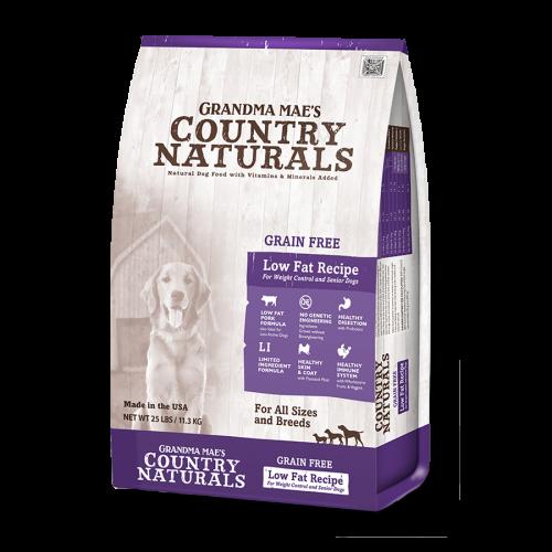 Grandma Country Naturals 無穀物防敏高纖配方 Grain Free Low Fat Recipe 4LB