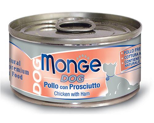 Monge 鮮味雞肉系列-雞肉火腿 95G