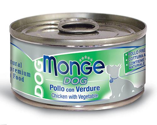 Monge 鮮味雞肉系列-雞肉蘿蔔 95G