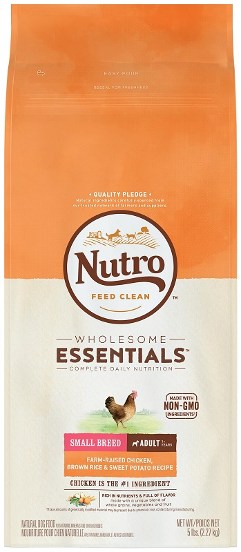NUTRO NATURAL CHOICE 小型成犬 (雞肉及全糙米) 5LBNUTRO NATURAL CHOICE 小型成犬 (雞肉及全糙米) 5LB