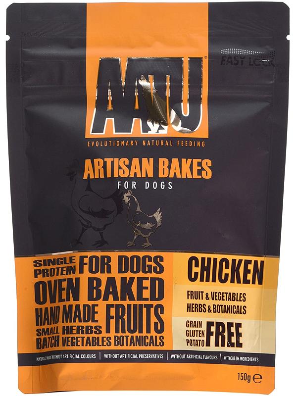 AATU草本烘焙點心 雞肉配方/強肌之選 150G