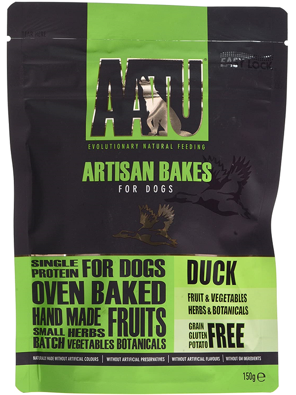 AATU草本烘焙點心 鴨肉配方/挑嘴之選 150G