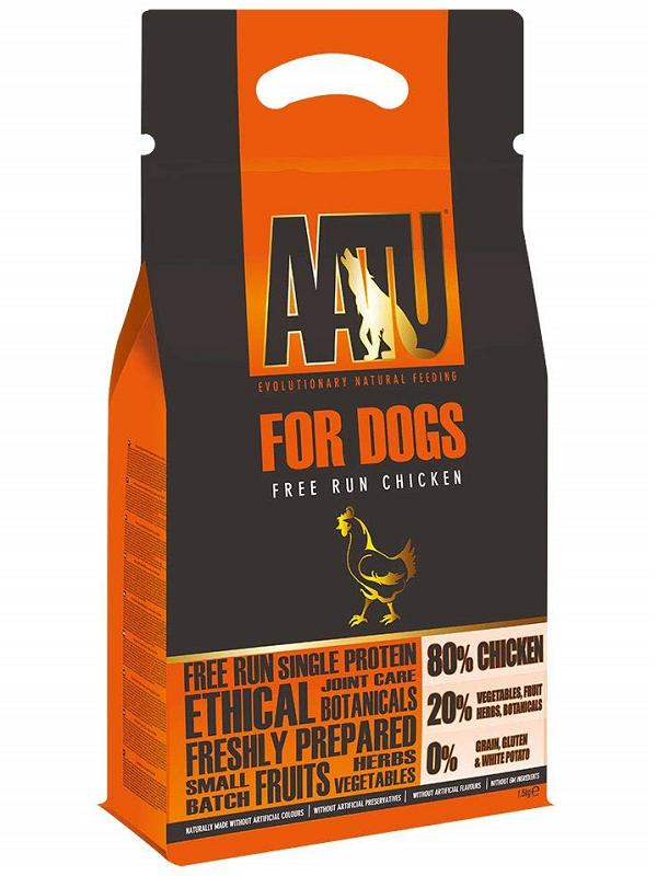 AATU全天然低敏狗糧-雞肉 1.5KG