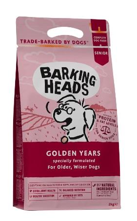 Barking Heads 全天然年長犬平衡配方(Golden Years 雞肉、三文魚、鱒魚40%) 12KG